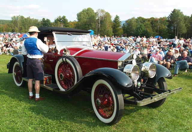 1923 Rolls-Royce Springfield Silver Ghost Piccadilly Roadster  Chassis no. 318XH Engine no. 21-143