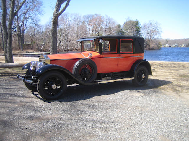 1926 Rolls-Royce Springfield Silver Ghost Tilbury Sedan  Chassis no. S360RL Engine no. 22605