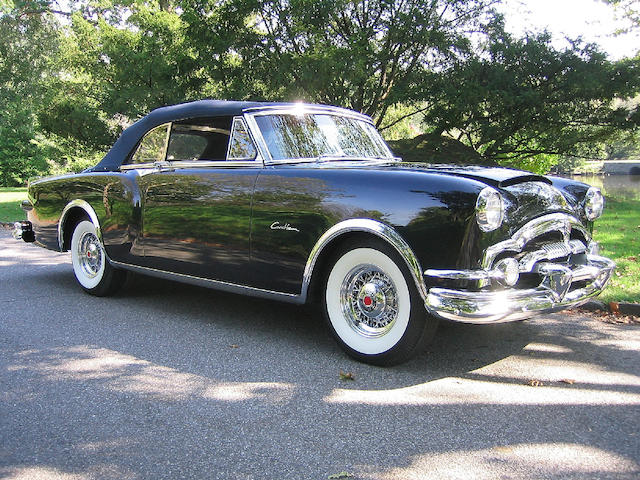 1953 Packard Carribean Custom Convertible  Chassis no. L411551