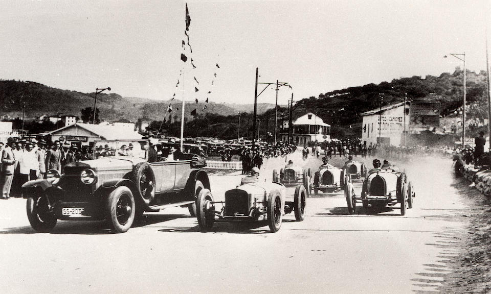 One of the first three supercharged Grand Prix Bugattis The Ex-works team, Bartolomeo Costantini,1926 Bugatti Type 39A Grand Prix Racing Two-Seater  Chassis no. 4802 Engine no. 76