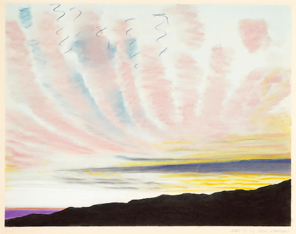 Peter Alexander (American, b.1939) Tuna Canyon, April 31, 1973 image 21 x 26 1/2in (53.3 x 67.3cm)