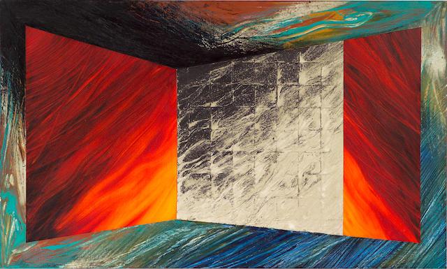 Laddie John Dill (American, 1943) Death in Venice, 1988 36 x 60in (91.4 x 152.4cm)