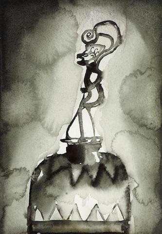 Francesco Clemente (Italian, 1952) Bell, 1996