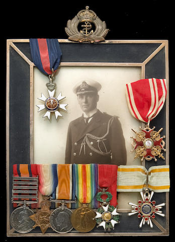An extensive group of medals and memorabilia of Admiral Wilfrid Egerton, Royal Navy