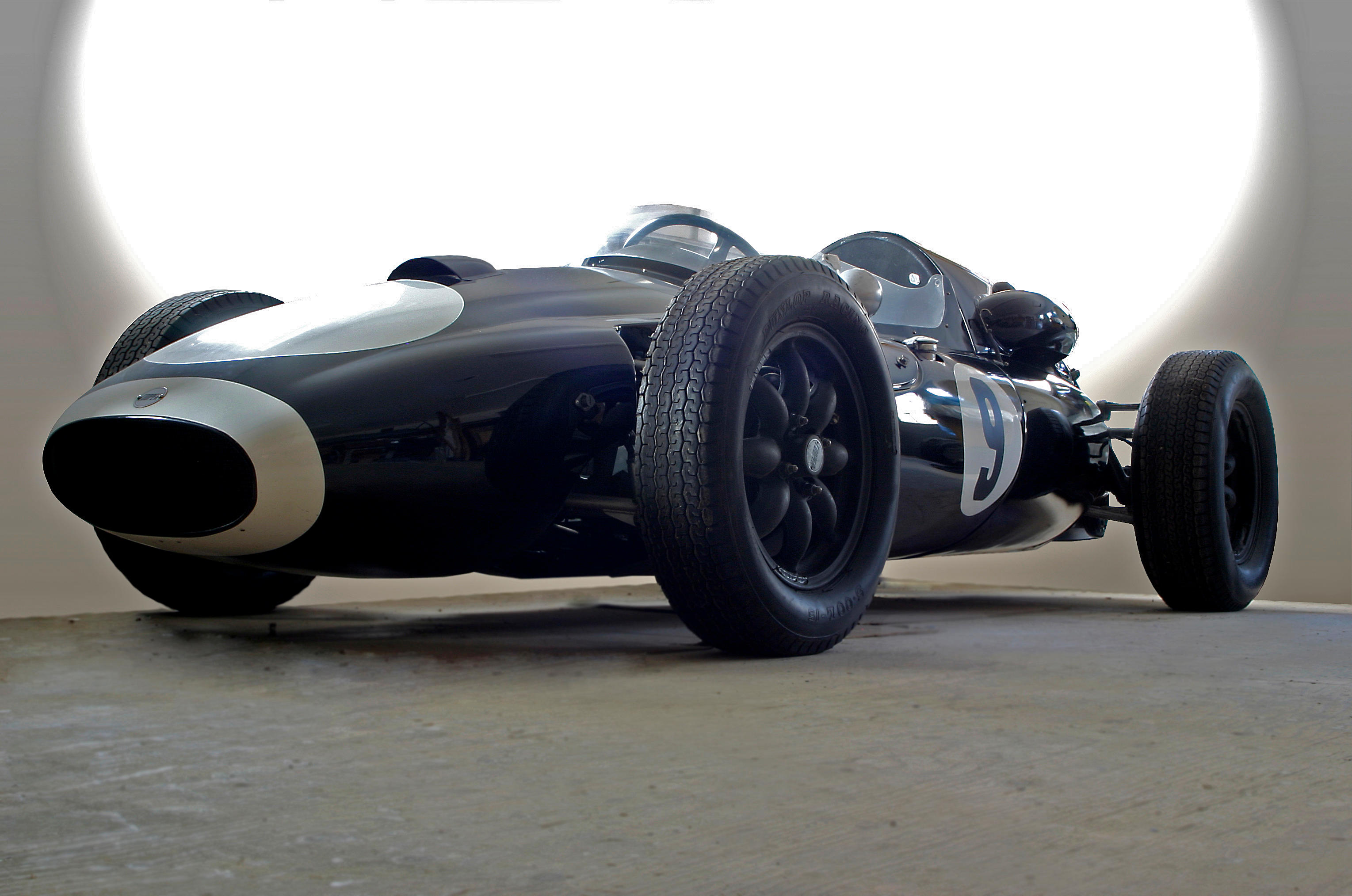 The Ex-Dickie Stoop 1958 '2-liter' COOPER-CLIMAX TYPE 45 FORMULA 1 RACING...