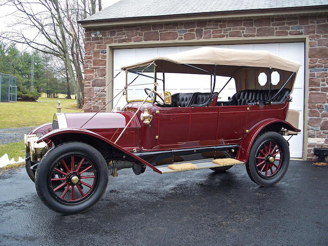 1912 Pierce Arrow Model 48 Touring Car  Engine no. 9491