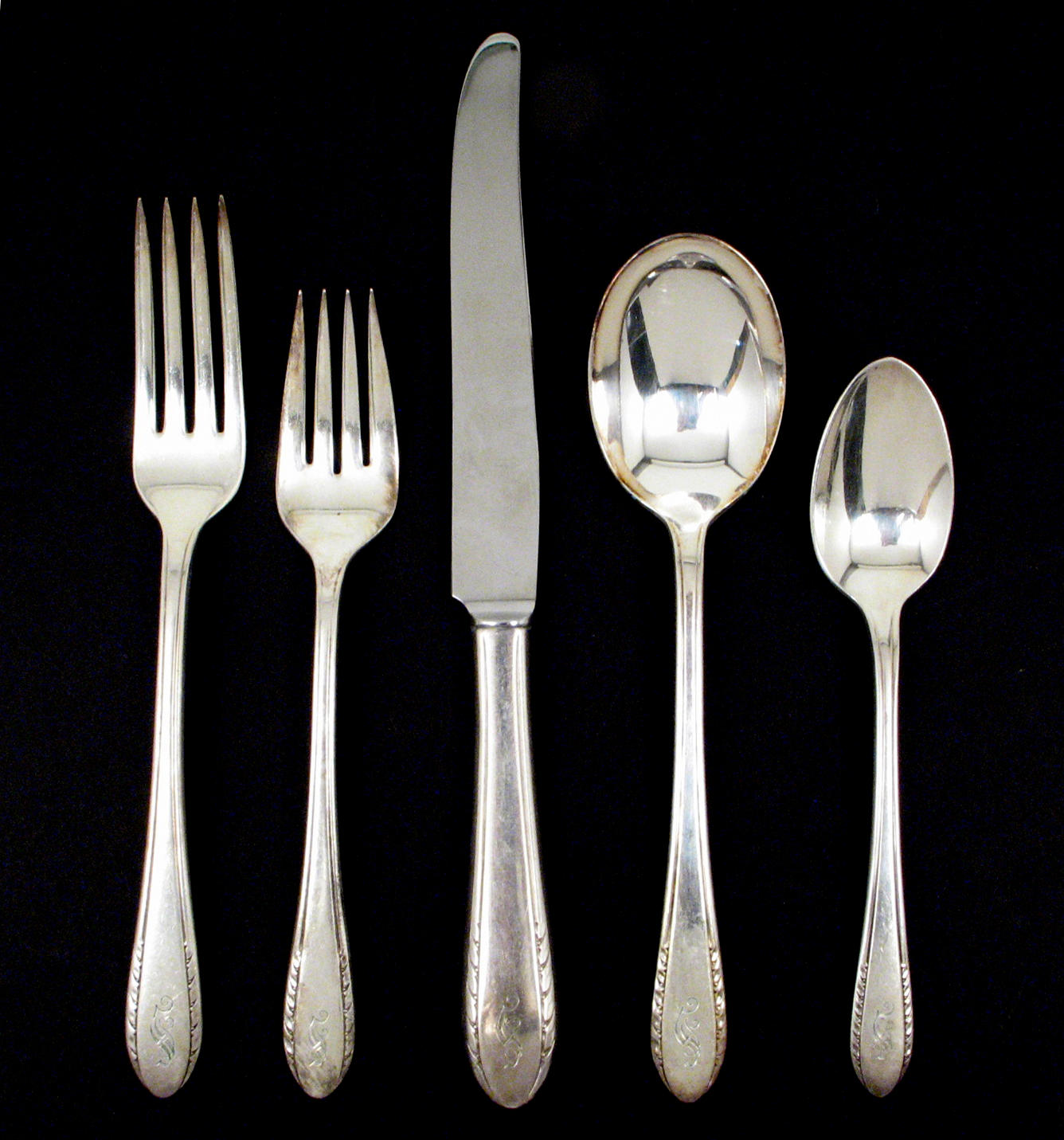 Holmes & Edwards Company knives forks spoons