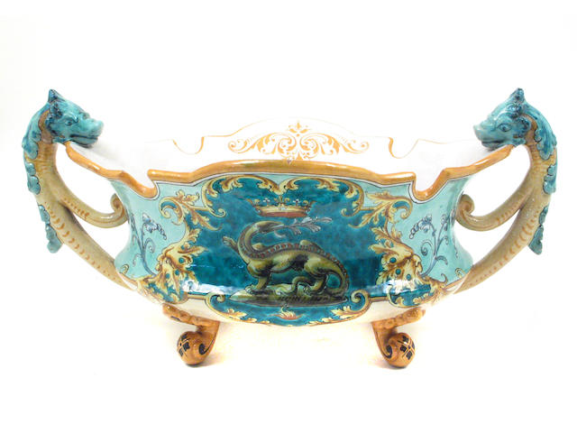 A French faience center bowl