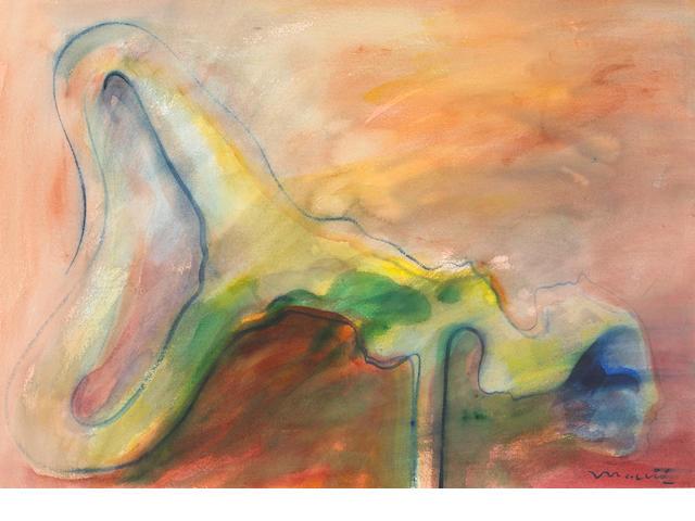 Romulo Maccio, watercolor