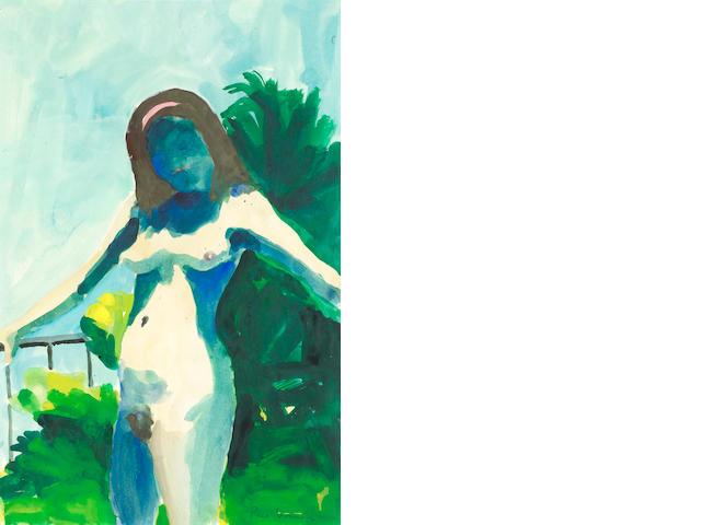 Paul Wonner, Nude