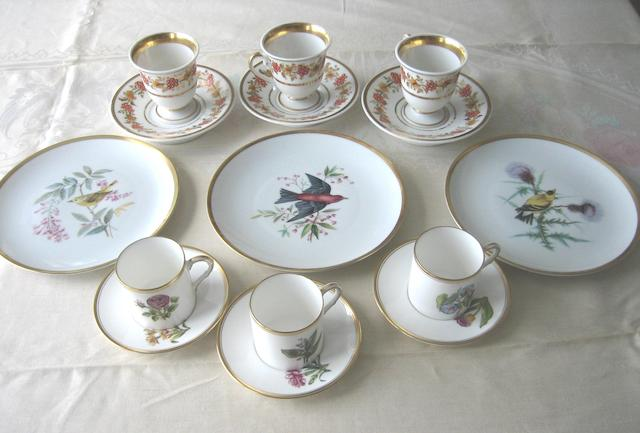A miscellaneous group of European ceramics