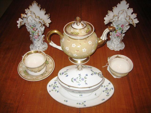 A group of European porcelain