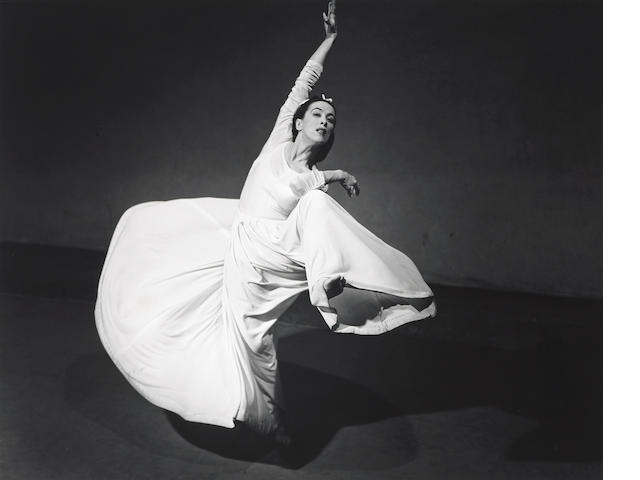 Barbara Morgan Martha Graham-Letter to the World (Swirl) (Swirl);