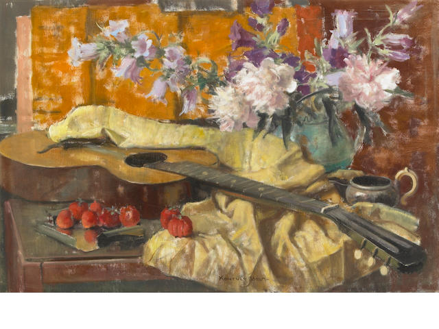 Bela Kontuly, Still Life, oil on canvas