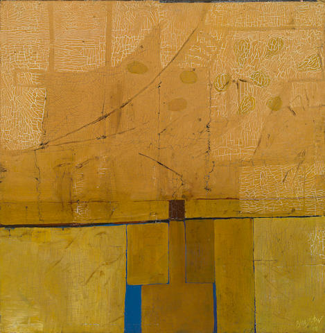 Billy Al Bengston, Untitled, 1958, oil on canvas, Provenance: Acquired directly from the artist