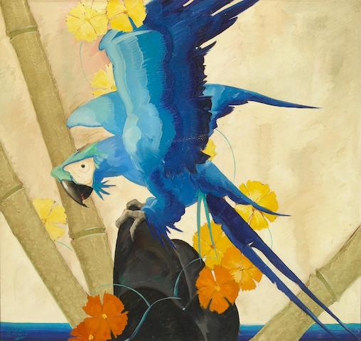 Stark Davis Untitled oil on canvas