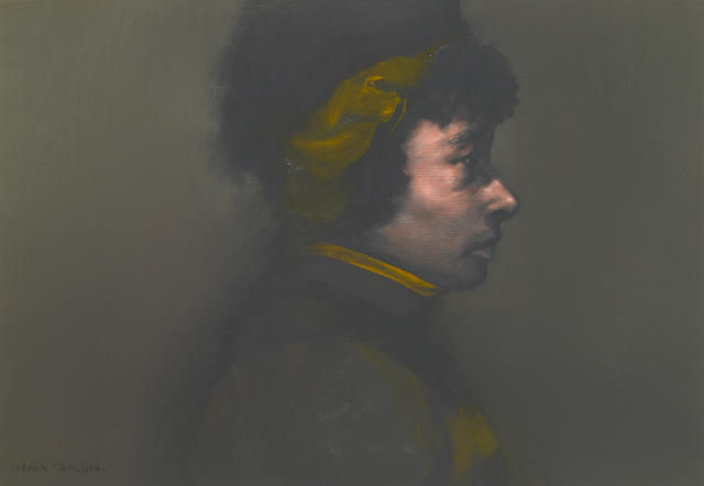 Rafael Coronel Candevaria acrylic on canvas