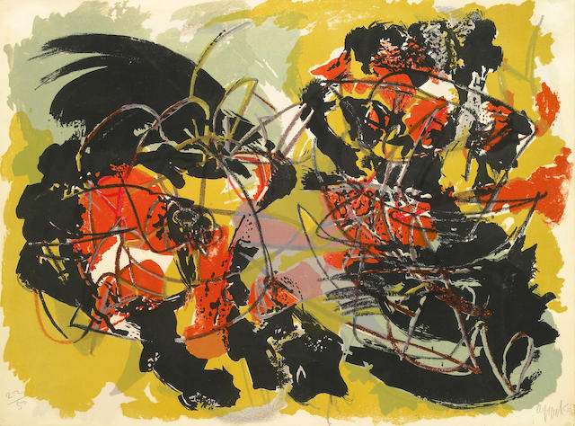 Karel Appel (Dutch, 1921-2006); Untitled;