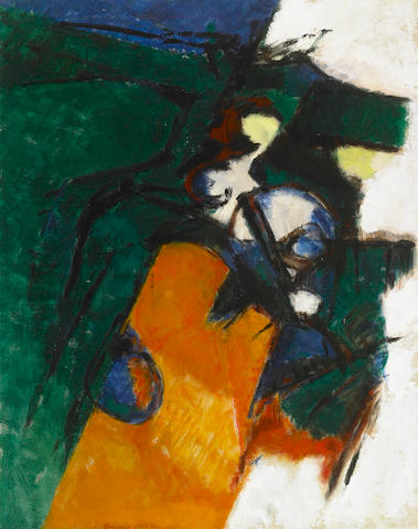 Bernard Dufour (French, b.1922) Untitled, 1957 38 x 30in (97 x 76cm)