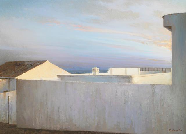 Enrique Romero Santana (Spanish, b. 1947), Luz de la Antilla, 1994