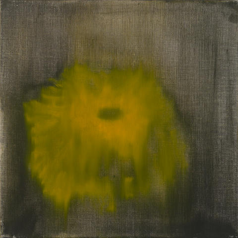 Ross Bleckner, oil on canvas, 1996