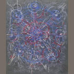 Stanley William Hayter, pastel on paper