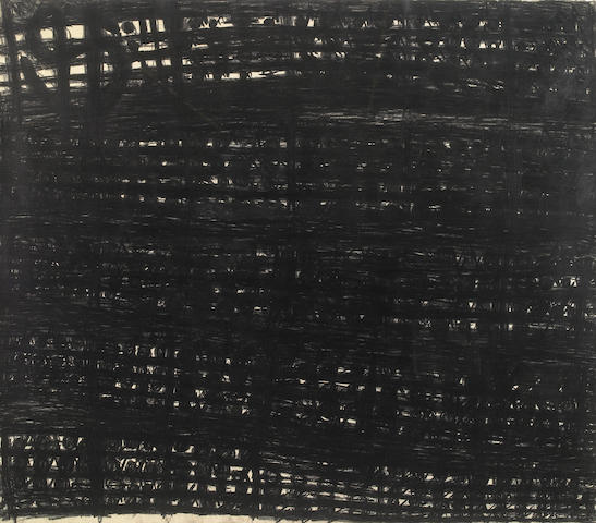 Nancy Rubins, Untitled (Music Notes), 1983, graphite on paper, signed and dated and inscribed on the reverse