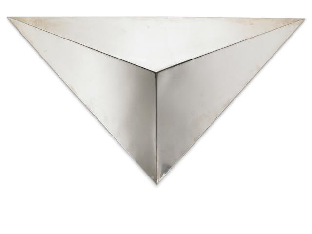 Michael Asher, Untitled, stainless steel