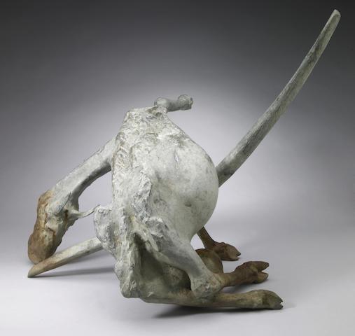 Jack Zajac (American, b.1929) Bound Goat 22 1/2 x 24 x 27in (57 x 61 x 68.5cm)