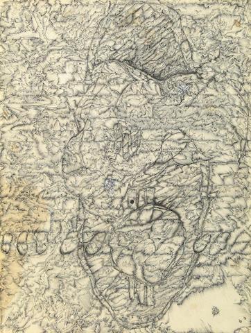Kyle Lind, Untitled, pen on paper