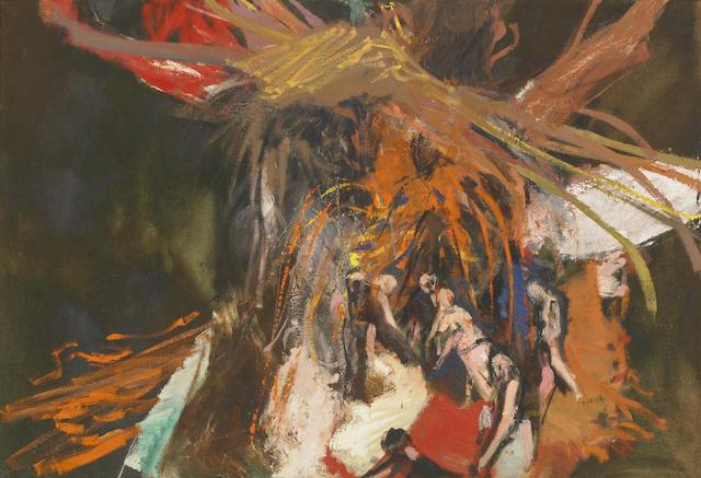 Jack Zajac (American, b.1929) Untitled 45 x 65in (115 x 165cm)