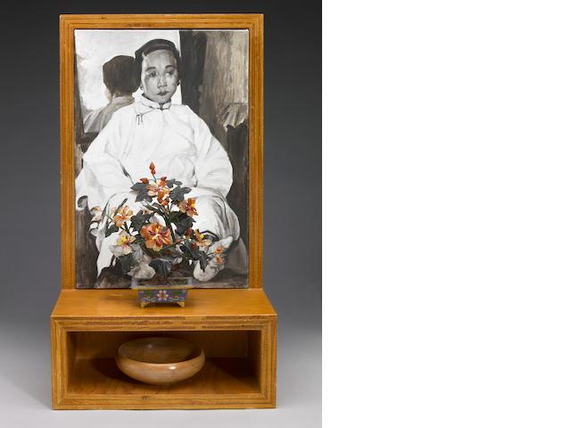 Hung Liu (Chinese/American, b.1948) Anonymous Woman, 1991 25 x 14 x 8in (63.5 x 35.5 x 20.3cm)