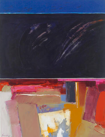 Dan Niminga, Untitled, oil on canvas