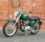 Von Dutch,c. 1964 Triumph 650cc TR6 Trophy Frame no. TR6RDU9509
