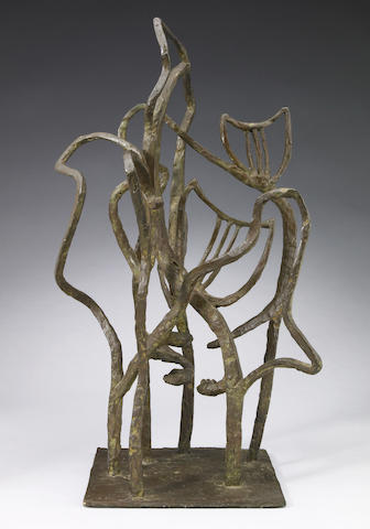 Marie Zoe Greene Mercier (American, b.1911), Greene-Mercier, Untitled, bronze, 18in