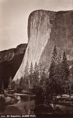 Isaiah West Taber (American, 1830-1912); Selected Images of Yosemite; (7)