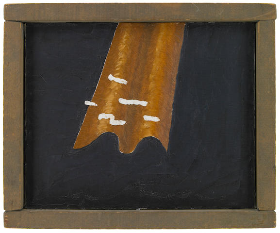 Forrest Bess, Untitled, No.51, 1951, oil on canvas