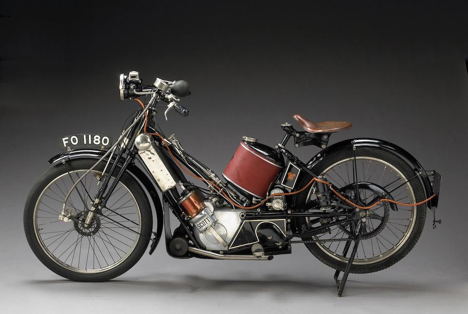 1922 Scott 532cc Standard Tourer Frame no. 2772 Engine no. 6020