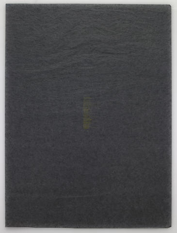 James Lee Byars (American, 1932-1997); THE BLACK BOOK;
