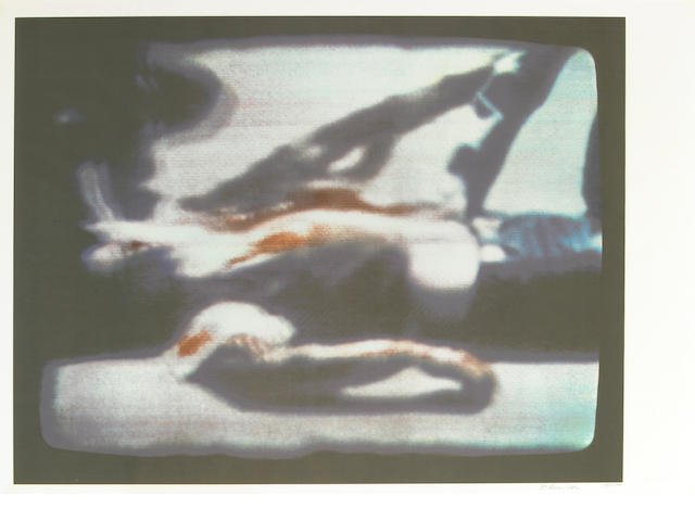 Richard Hamilton, Kent State, 1970,  color silkscreen