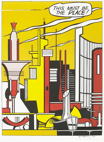 Roy Lichtenstein (American, 1923-1997); This Must Be The Place;