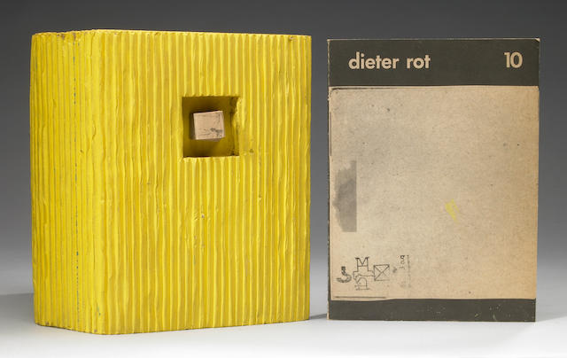 Dieter Roth, Band 10, Deluxe Edition (piece missing off back board)