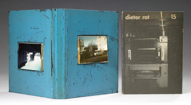 Dieter Roth, Band 15, Deluxe Edition (blue with photo)