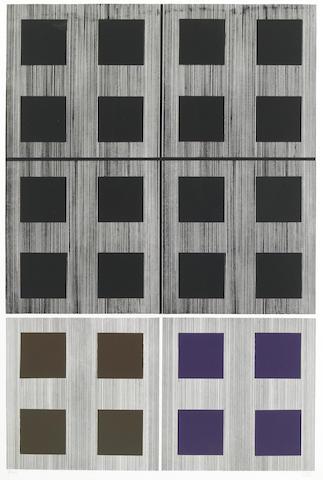 Jesus Rafael Soto, Untitled, silkscreen 7/100