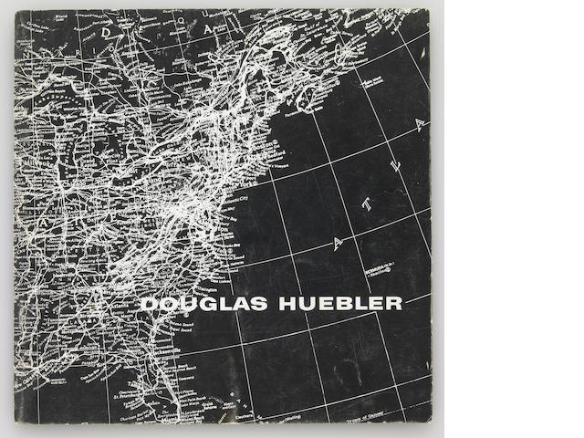 Douglas Huebler, November 1968, Seth Siegelaub, New York, exhibition catalogue