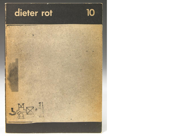 Dieter Roth, Band 10, regular edition, book