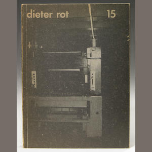 Dieter Roth, Band 15, regular edition, book