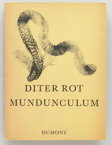 Dieter Roth, Mundunculum, 1967, published by M. DuMontSchauberg, Koln, edition 1000