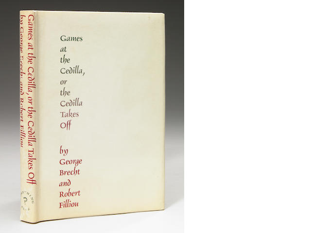 George Brecht and Robert Filliou, Games at the Cedilla, or the Cedilla Takes Off, Something Else Press, 1967