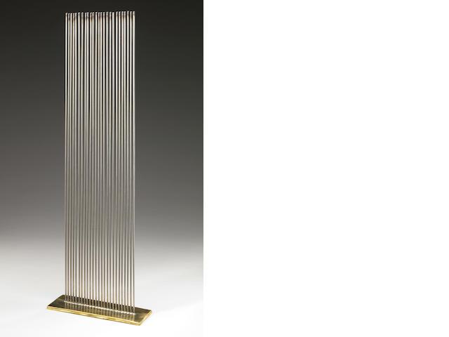 Val Bertoia (American, b.1949) Sound Sculpture, 1972 24 x 8 x 2 3/4in (61 x 20.3 x 7cm)